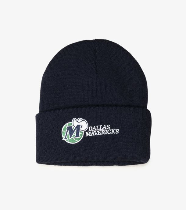 MAVS TEAM LOGO CUFF KNIT