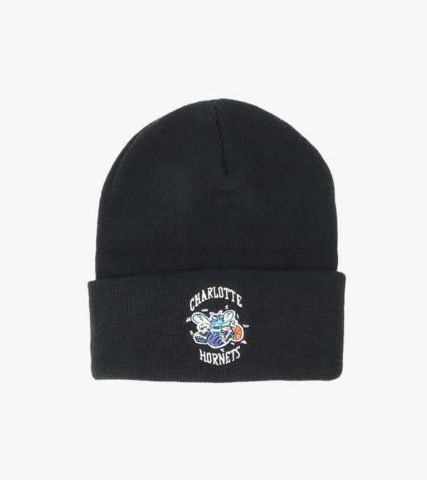 HORNETS TEAM LOGO CUFF KNIT