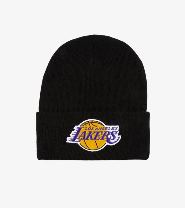 LAKERS TEAM LOGO CUFF KNIT