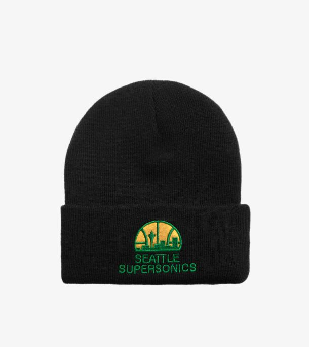 SONICS TEAM LOGO CUFF KNIT