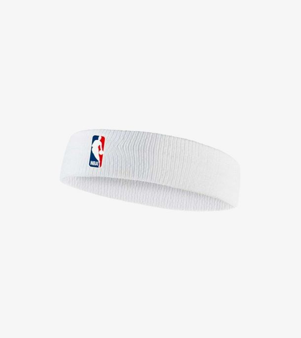 NBA HEADBAND WHITE