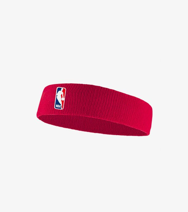 NBA HEADBAND UNIVERSITY RED