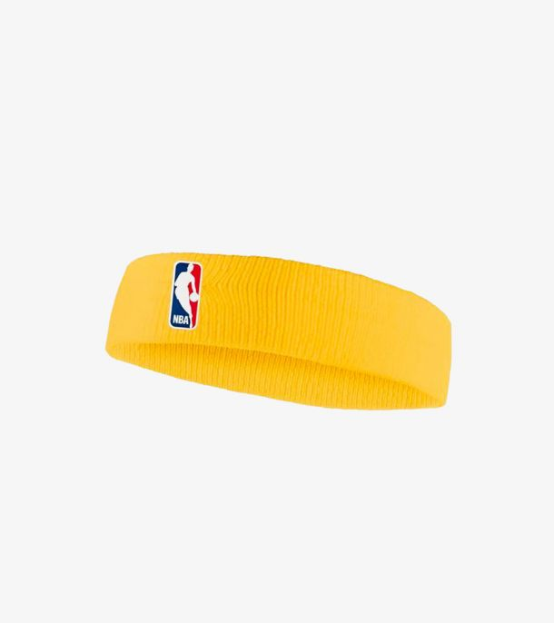 NBA HEADBAND UNIVERSITY GOLD