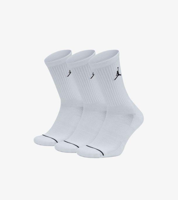 JORDAN 3PACK SOCKS WHITE