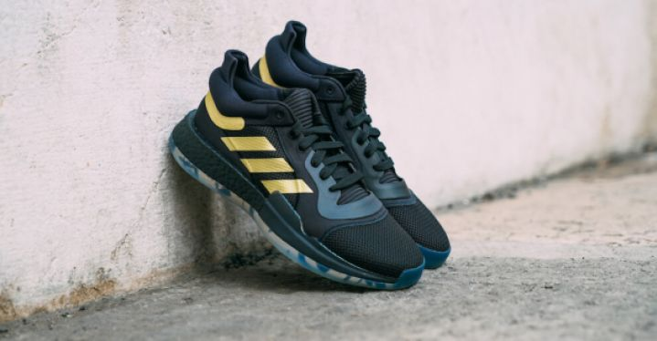 adidas Marquee Boost Low Black Gold