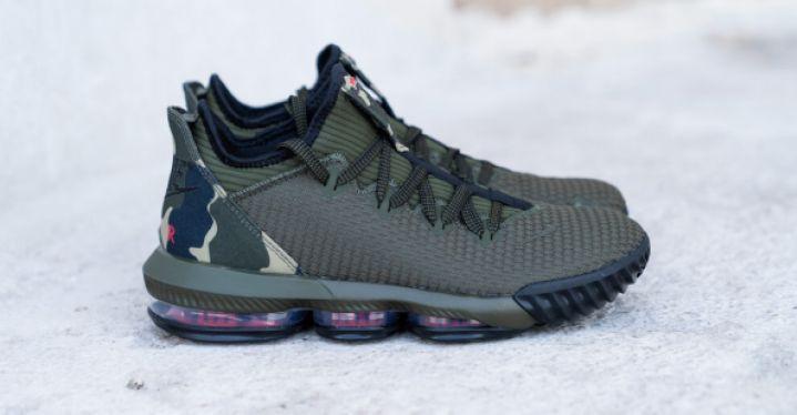 LEBRON XVI LOW CP CAMO | Nike | CI2668