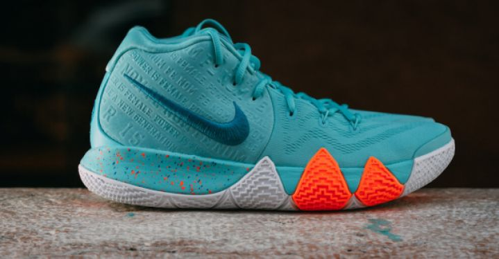 new products 4546a 096e5 KYRIE 4 POWER IS FEMALE | Nike | 943806-402 | Double Clutch