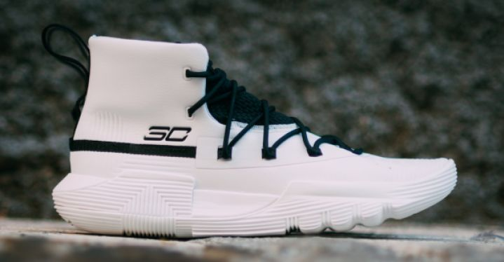 purchase cheap 8b7fe b6927 CURRY 3ZERO II WHITE | Under Armour | 3020613-103 | Double ...