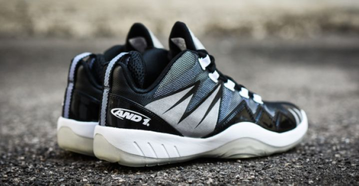 BOOM LOW BLACK/WHITE | And1 | D363MWBG | Double Clutch