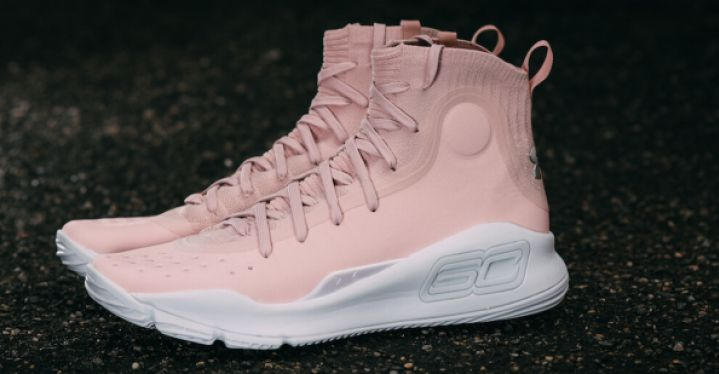 brand new 56ff9 056d7 CURRY 4 FLUSHED PINK | Under Armour | 1298306-605 | Double ...