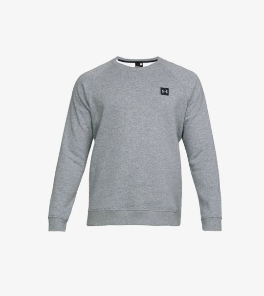 RIVAL FLEECE CREW GREY