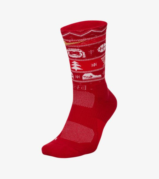 ELITE XMAS SOCKS GYM RED