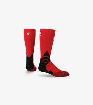 NBA SOLID CREW RED