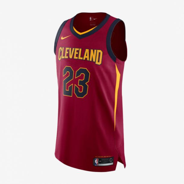 LEBRON JAMES ICON AUTHENTIC JERSEY