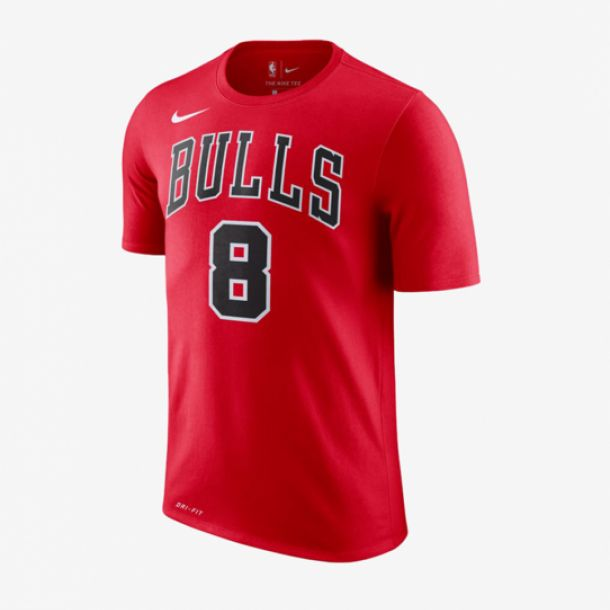 ZACH LAVINE NAME AND NUMBER TEE