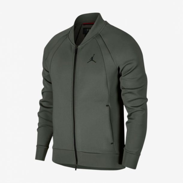 WINGS FLEECE BOMBER RIVER ROCK