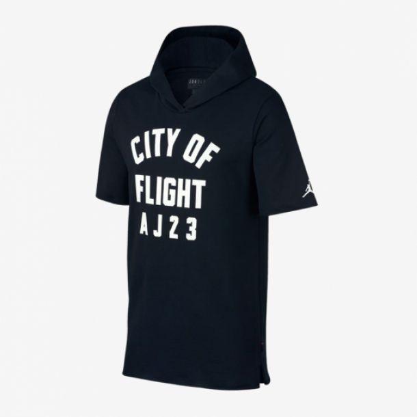 CITY OF FLIGHT HOODED TOP