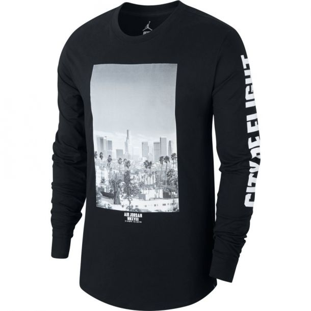 CITY OF FLIGHT PHOTO LONG SLEEVE TEE