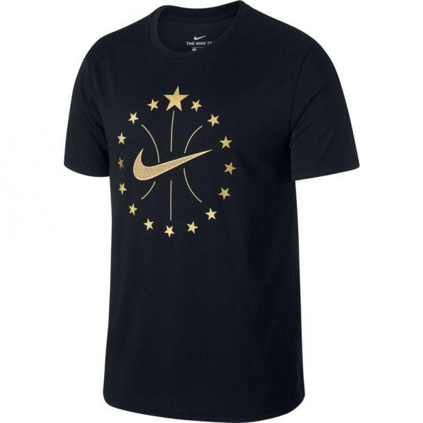 NBA 16 STARS TEE BLACK