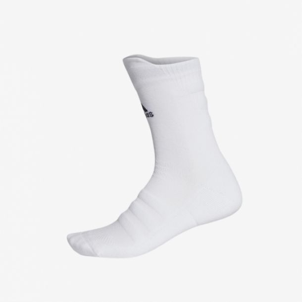 ALPHASKIN CREW SOCKS WHITE