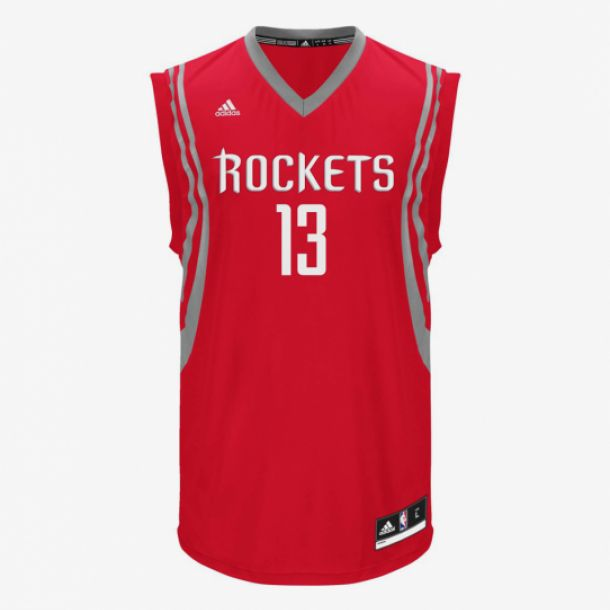 HARDEN REPLICA JERSEY RED