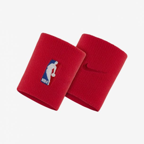 NBA WRISTBAND UNIVERSITY RED