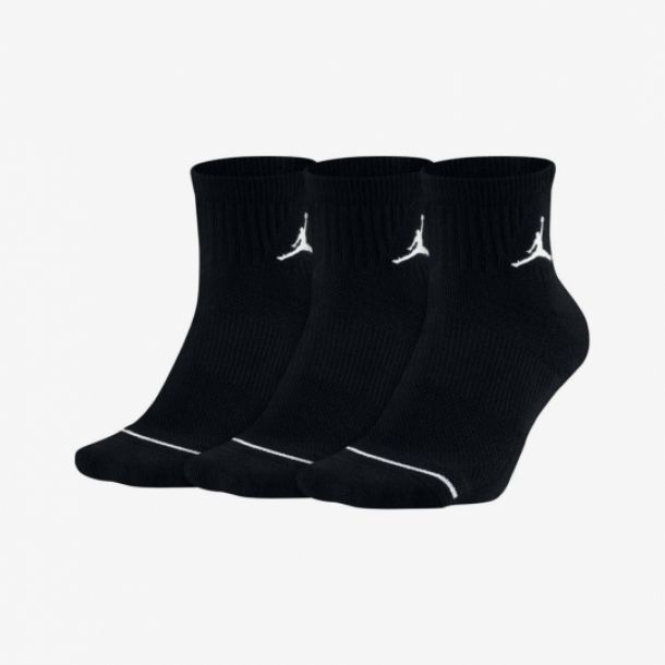 JUMPMAN 3 PACK QUARTER SOCKS