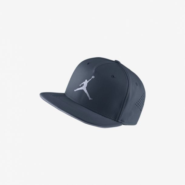 JUMPMAN PERFORATED SNAPBACK BLUE