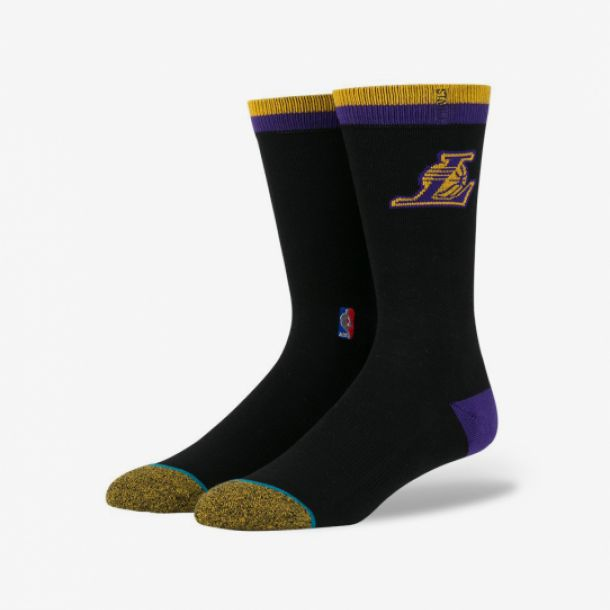LAKERS ARENA LOGO SOCKS