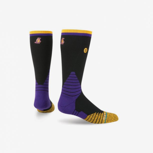 LAKERS LOGO CREW SOCKS