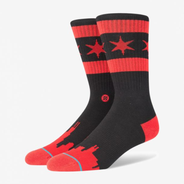 WADE CHICAGO SKYLINE SOCKS