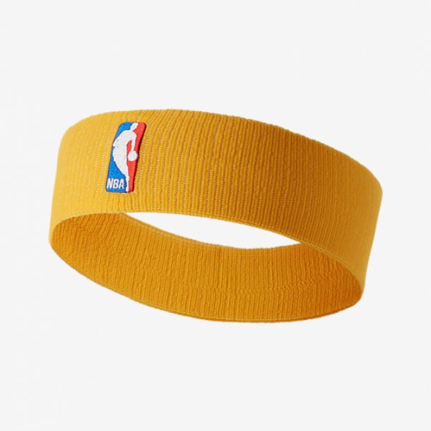 NBA HEADBAND YELLOW