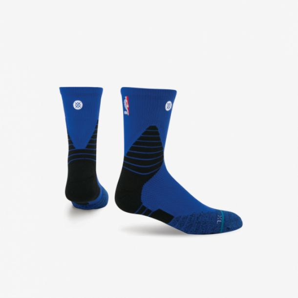 NBA SOLID QTR SOCKS