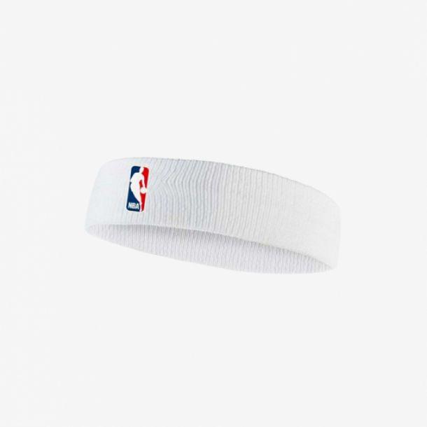NBA HEADBAND WHITE