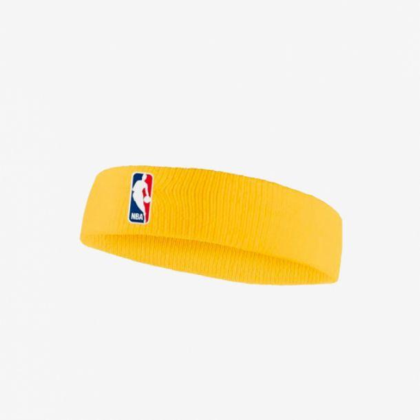 NBA HEADBAND UNIVERSITY GOLD