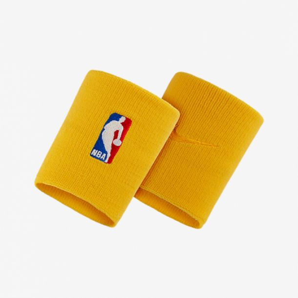 NBA WRISTBAND YELLOW