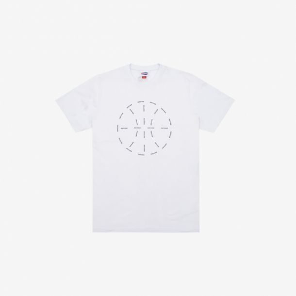 RUN&GUN BALL TEE WHITE