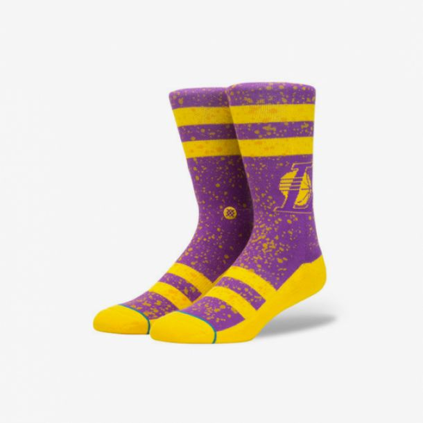 OVERSPRAY LAKERS SOCKS