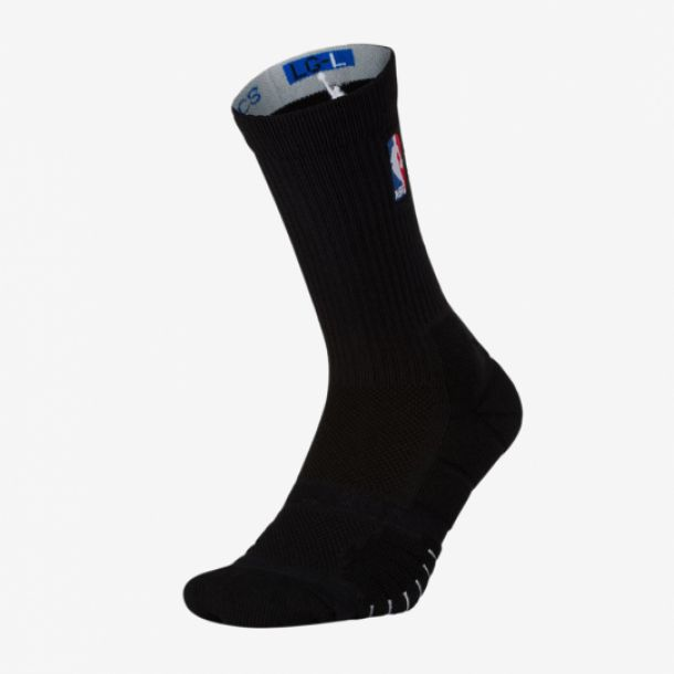 ELITE QUICK CREW SOCKS BLACK