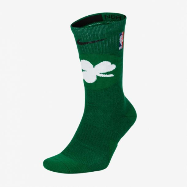 CELTICS NBA ELITE CREW SOCKS