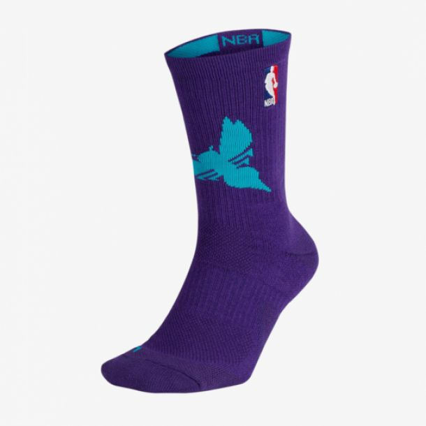 HORNETS NBA ELITE CREW SOCKS