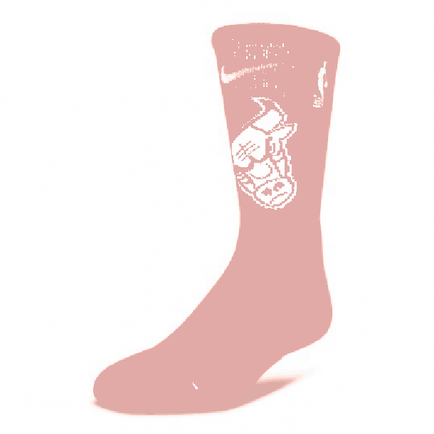 BULLS NBA ELITE CREW SOCKS