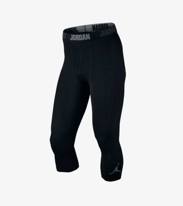 JORDAN DRY 3/4 TIGHT BLACK