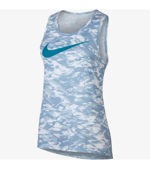 WOMAN DRY ELITE BASKETBALL TANK BLUE