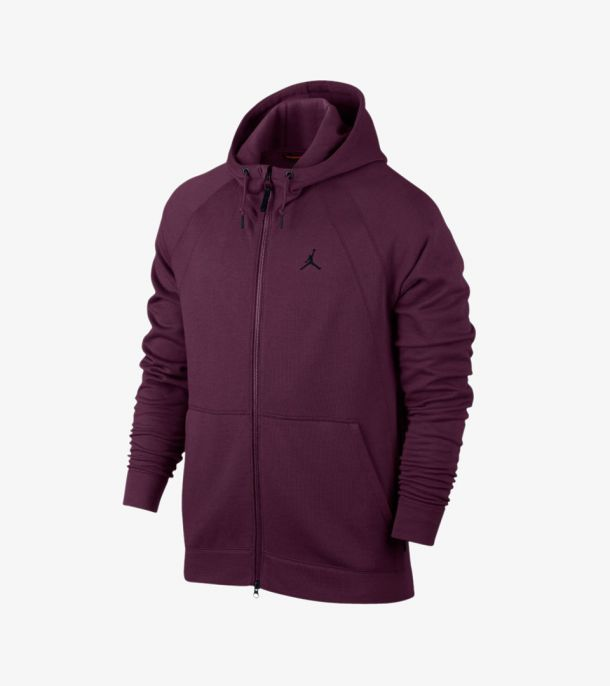 JORDAN WINGS FLEECE HOODY BORDEAUX