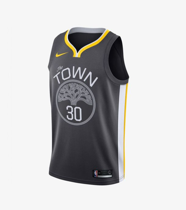 CURRY STATEMENT SWINGMAN JERSEY