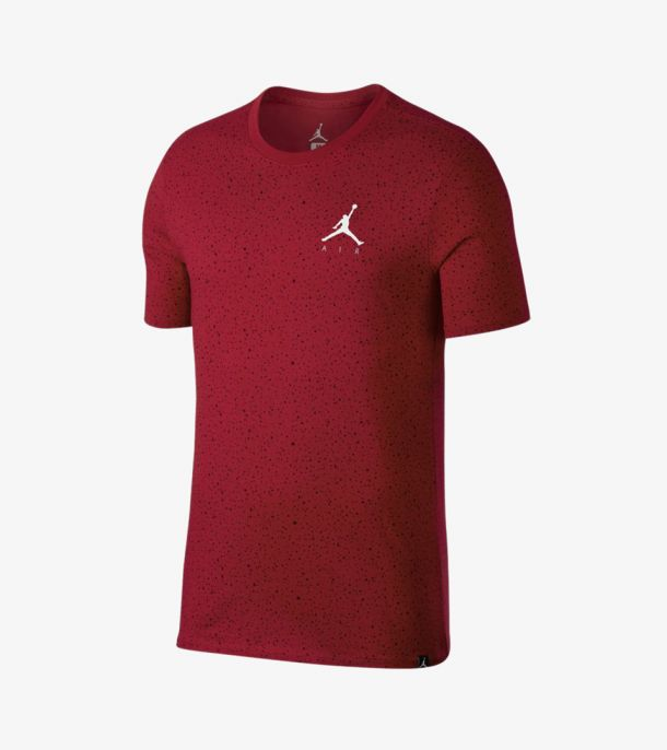 SPECKLE TEE RED