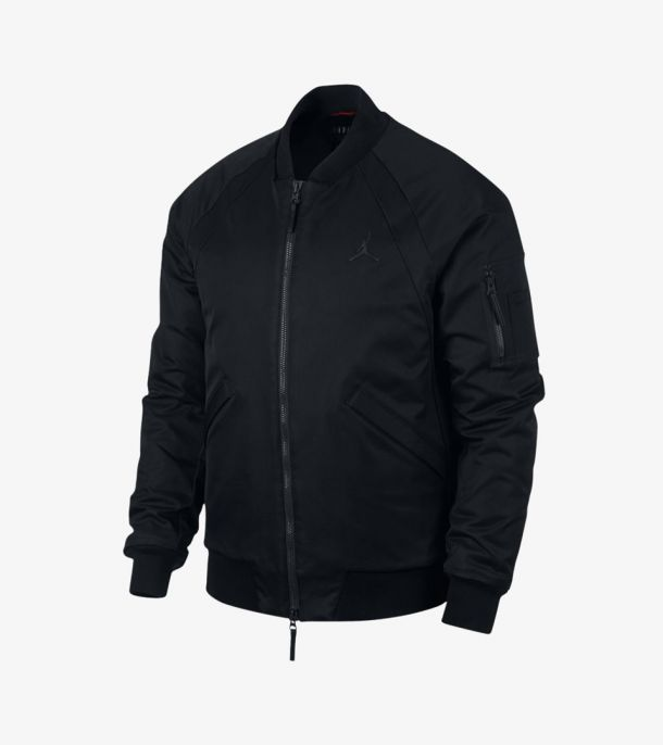 JORDAN WINGS BOMBER JACKET BLACK
