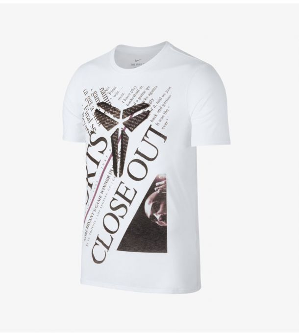 KOBE CLOSE OUT TEE WHITE