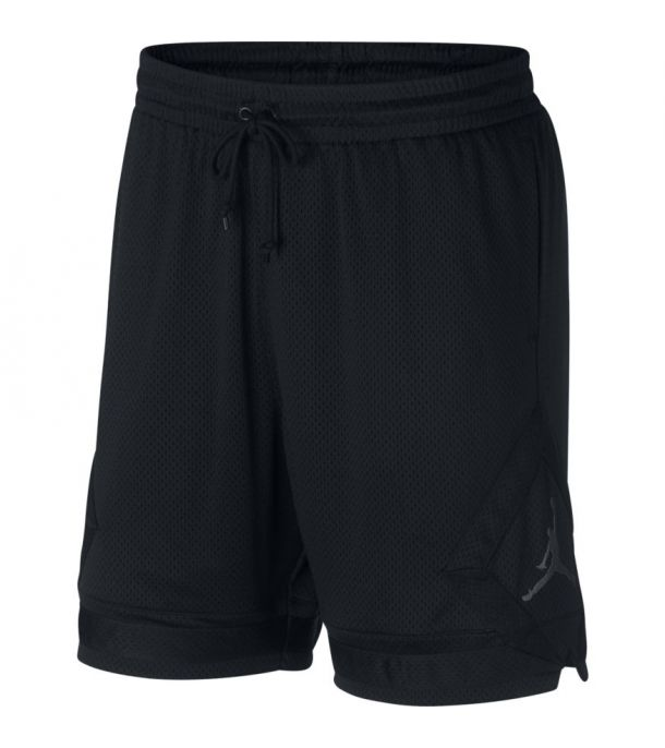 DIAMOND MESH SHORT BLACK